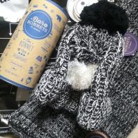 CABAIA : Echarpes & Bonnets FUN pour l'Hiver !